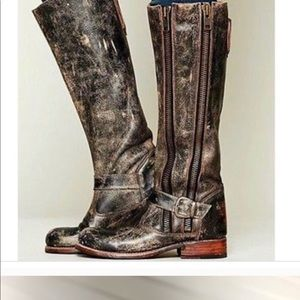 Bed Stu Distressed Boots Size 6